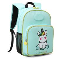 mommore Cute Unicorn Kids Backpack Preschool Toddler Backpack for 3-7 Years Old Boys/Girls, Green