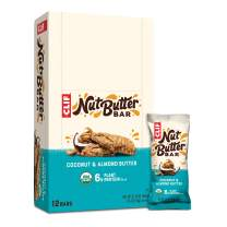 Clif Bar Nut Butter Filled - Organic Snack Bars - Coconut Almond Butter - (1.76 Ounce Protein Snack Bars, 12 Count)