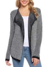 iClosam Women's Knit Cardigan Open Front Cardigan Sweater Outwear Blazer Coat