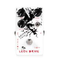 Caline Electric Guitar Effects Pedals Multi Distortion Leon Drive 9V DC White Central Station Guitar Pedal Bass Reverb Acoustic Preamp True Bypass CP-50 Guitarist Gifts