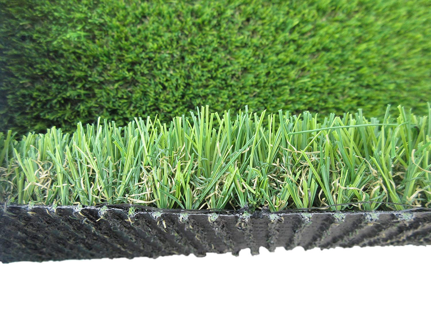 PZG Commerical Artificial Grass Patch w/ Drainage Holes & Rubber Backing   Extra-Heavy & Durable Turf   Lead-Free Fake Grass for Dogs or Outdoor Decor   Total Wt. - 83 oz & Face Wt. 55 oz   12' x 6'
