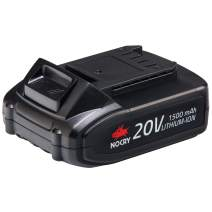 NoCry 20V Lithium Ion Battery - Rechargeable 1.5 Ah Battery for NoCry Cordless Power Tools Only