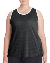 Champion Women's Plus-Size Double Dry Heather Tank