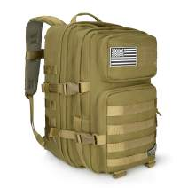 LeisonTac Enhanced Tactical Backpack with Military ISO Standard
