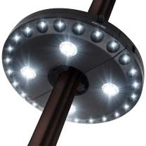 Patio Umbrella Light 3 Lighting Modes Cordless 28 LED Lights at 200 lux- 4 x AA Battery Operated, Umbrella Pole Light for Patio Umbrellas, Camping Tents or Outdoor Use …