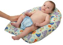 Leachco Safer Bather infant Bath Pad, Bubble Bay