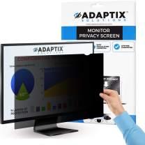 "Adaptix Monitor Privacy Screen 22"" – Info Protection for Desktop Computer Security – Anti-Glare, Anti-Scratch, Blocks 96% UV – Matte or Gloss Finish Privacy Filter Protector – 16:10 (APF22.0W)"