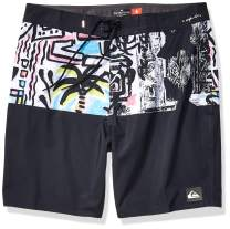 Quiksilver Men's Highline Division Deluxe 19 Boardshort Swim Trunk