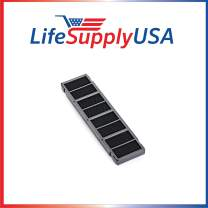 LifeSupplyUSA 3 Pack Replacement 3-in-1 Filter Compatible with Oreck Pro Shield Tabletop AIR12B, AIRPS Super Air 7, AIR7B, AIR7C & XL Professional Air Purifier