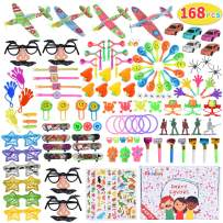 Max Fun 168pcs Random Color Assortment Toys for Kids Birthday Party Favors Prizes Box Toy Assortment Classroom