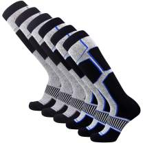 Pure Athlete Snowboard Socks for Men - Comfortable Warm Skiing Snowboarding Sock Women, Winter
