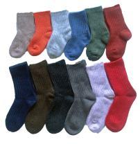 Lovely Annie 6 Pairs Children Durable Wool Socks for Boys & Girls Random Color