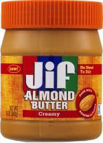 Jif Almond Butter, Creamy, 12 Ounce