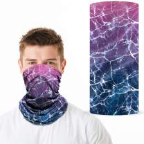 Neck Gaiter Face Mask, Multifunctional Bandana, UV Dust Protection Face Cover for Cycling Hiking, Headwear for Men & Women