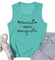 Mamacita Needs A Margarita Shirt Women Cinco De Mayo Tank Top Tequila Drinko Mom Gift Funny Party Tee