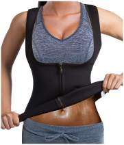 Slimming Neoprene Vest Hot Sweat Shirt Body Shapers for Smooth Muffin Top