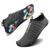 WXDZ Men Women Water Sports Shoes Quick Dry Barefoot Aqua Socks Swim Shoes for Pool Beach Walking Running
