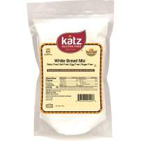 Katz Gluten Free White Bread Mix | Dairy, Nut and Gluten Free | Kosher (6 Packs, 24 Ounce Each)