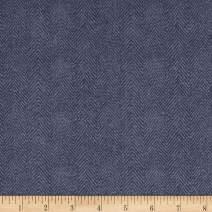 Maywood Studio Woolies Flannel Herringbone Dusty Purple, Fabric by the Yard