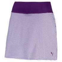 Puma Golf Women's 2018 PWR Shape Dassler Knit Skirt, X-Large, Majesty