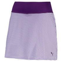Puma Golf Women's 2018 PWR Shape Dassler Knit Skirt, Large, Majesty