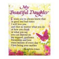"Blue Mountain Arts Refrigerator Magnet ""My Beautiful Daughter"" 4.0 x 3.25 in. Sentimental Christmas, Birthday, Graduation, or ""I Love You"" Gift from a Mom to Her Daughter—Poem by Susan Polis Schutz"