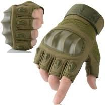 AXBXCX Touchscreen Full Finger and Fingerless Gloves for Men
