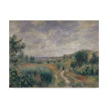 Landscape near Essoyes 1892  by Pierre Auguste Renoir, 18x24-Inch