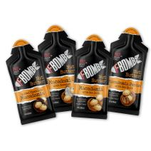 FBOMB Nut Butter 16 Pack: All-Natural Energy, Keto Fat Bombs   High Fat, Low Carb Snack, On-The-Go Energy   Paleo, Vegetarian, Keto Snacks   Chocolate, Coconut, Pecan, Macadamia & Sea Salt - Packets