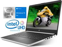 "HP 14"" HD Laptop, Intel Core i5-1035G4 Upto 3.70GHz, 8GB RAM, 128GB SSD, HDMI, Card Reader, Wi-Fi, Bluetooth, Windows 10 Pro"