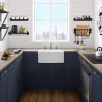 Swiss Madison Well Made Forever SM-KS245 Delice Ceramic Kitchen Sink, White
