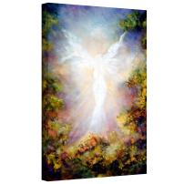 Art Wall Apparition Gallery Wrapped Canvas Art by Marina Petro, 48 by 32-Inch