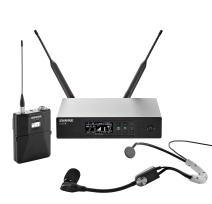 Shure QLXD14/SM35 Wireless Microphone System with Bodypack and SM35 Headworn Mic