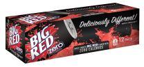 Big Red | Zero | Fridge Pack Cans | Zero Calories | 12 fl. oz (12 Count)