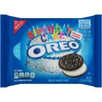 OREO Birthday Cake Chocolate Sandwich Cookies, 15.25 oz