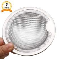 Kitchen Sink Strainer,Stainless Steel Sink Drain Cover Hat-Design Garbage Disposal Filter
