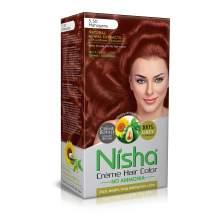 Nisha Creme Hair Color Mahogany (Pack of 1)