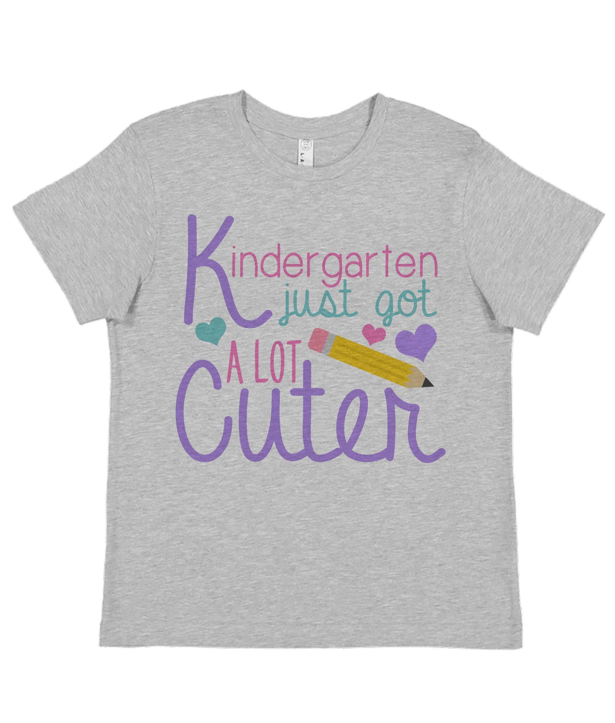 7 ate 9 Apparel Girl's Kindergarten Got Cuter School Shirt