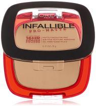 L'Oréal Paris Infallible Pro-Matte Powder, True Beige, 0.31 oz.