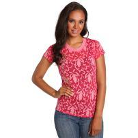 Sweet Vibes Junior Womens T-Shirt Gold Foil Print Stretch Jersey Crew Neck Tee