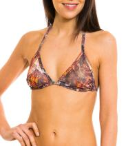 Kiniki Pavo Tan Through Bikini Top Swimwear