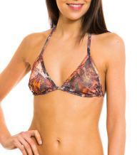 Kiniki Pavo Tan Through Bikini Top Swimwear