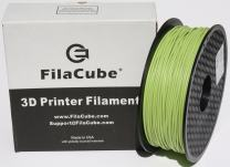 Greenery (Color of Year 2017,Yellowish-Green Shade) PLA 3D Printer 1.75mm Filament - FilaCube 1.75 mm 1kg PLA 2 3D Printing Filament [Made in USA] Pantone 15-0343 Plus pro pla+ plapro propla plaplus