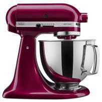 KitchenAid KSM150PSBX Artisan Series 5-Qt. Stand Mixer with Pouring Shield - Bordeaux