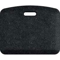 "WellnessMats Granite Anti-Fatigue Mat - Comfort, Support & Style - Non-Slip, Non-Toxic - 18""x22""x 3/4"" Granite Onyx"