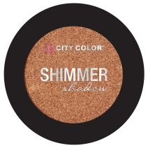 City Color Cosmetics Metallic Shimmer Eyeshadow | Vibrant, Bold, Beautiful Pigmented Makeup (Cheers To Life)