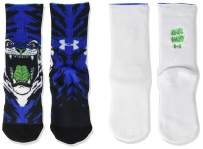 Under Armour Youth Novelty Crew Socks, 2-Pairs