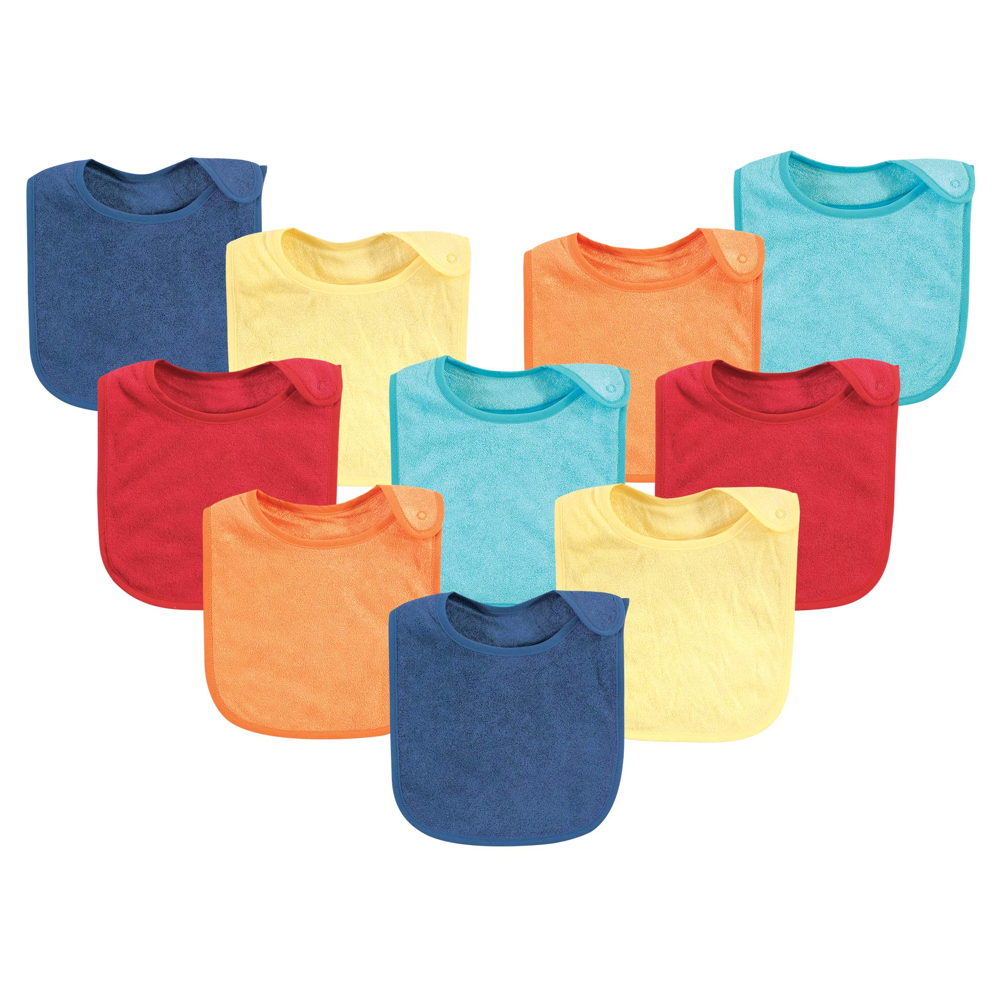 Hudson Baby Baby Rayon from Bamboo Terry Bibs