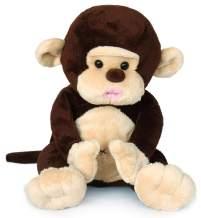 Ice King Bear Chocolate Monkey Stuffed Animal Plush Toy, for Kids Baby,8 Inches (Original)