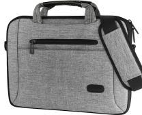 ProCase 14-15.6 Inch Laptop Bag Messenger Shoulder Bag Briefcase Sleeve Case for 2019 MacBook Pro 16 inch A2141, 14 15 15.6 Inch Laptop Ultrabook Notebook MacBook Chromebook Computer -Grey